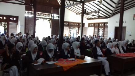 Penerimaan Mahasiswa KKN YKY di Desa Ringinharjo