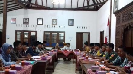 Rakor Pamong Desa dan BPD