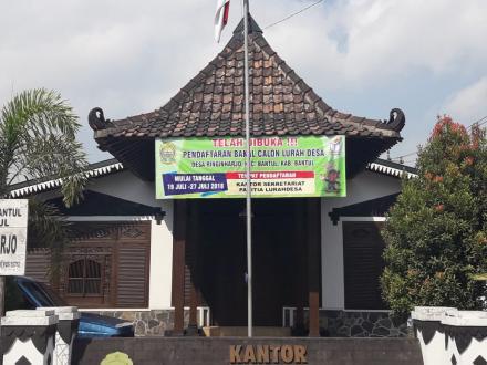 Pendaftaran Bakal Calon Lurah Desa Ringinharjo