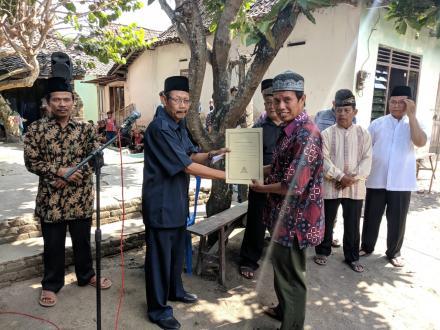 Aksi Simpati di Dusun Bantulkarang