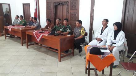 Kegiatan Peningkatan Kapasitas dan SDM Linmas Desa Ringinharjo