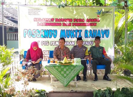 Launching Posbindu Mukti Rahayu Deresan
