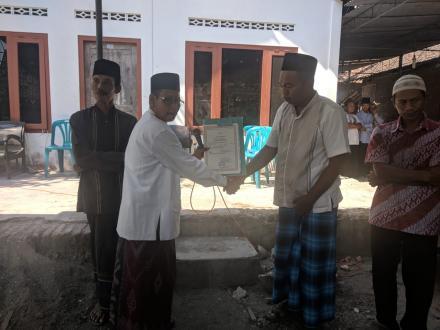 Aksi Simpati di Sogatran Dk Gemahan
