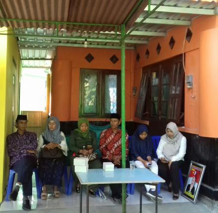 Kampanye Calon Lurah Desa Ringinharjo di Mandingan