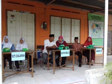 Kampanye Calon Lurah Desa Ringinharjo di Deresan