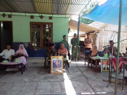 Kampanye Calon Lurah Desa di Gumuk