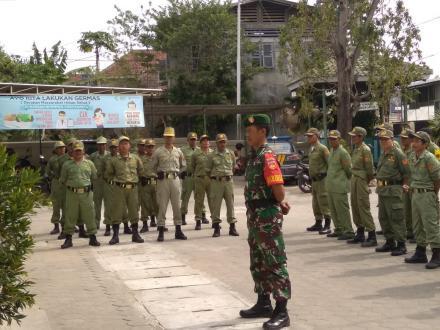 Apel Pengamanan Pilurdes Linmas Desa