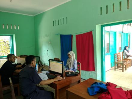 Perekaman KTP  di Desa Ringinharjo
