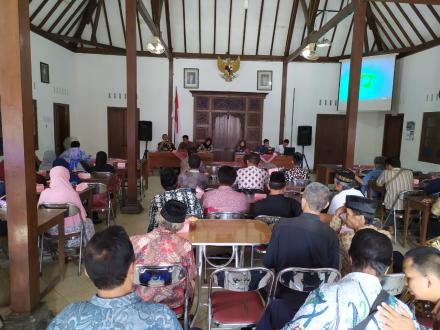 Bimbingan Teknis  Konsolidasi Tanah Tahun 2019