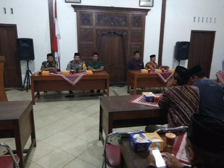 Halal bi Halal Pemerintah Desa Ringinharjo