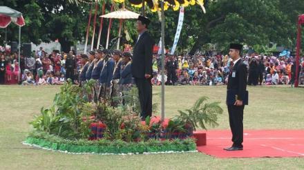 Upacara Peringatan hari jadi Kabupaten Bantul ke 188 tahun