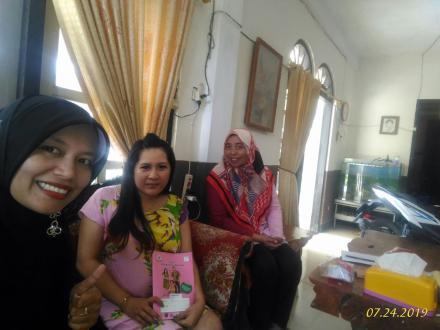 Kunjungan Ibu hamil oleh Bidan Desa