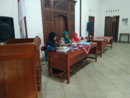 Rapat PKK tingkat Desa
