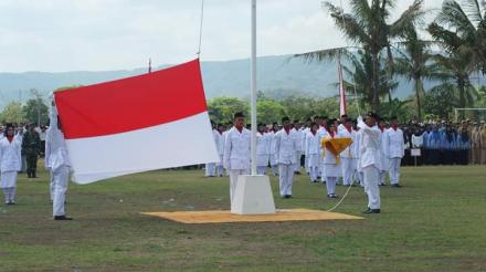 Upacara Detik-Detik Proklamasi Kecamatan Bantul