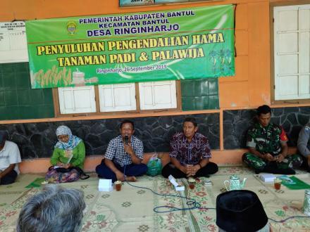Penyuluhan Pengendali Hama Tanaman Padi dan Palawija