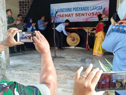 Launching Posyandu Lansia Sehat Sentosa Gemahan