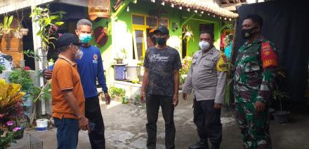 Giat Penyemprotan dan pembagian masker
